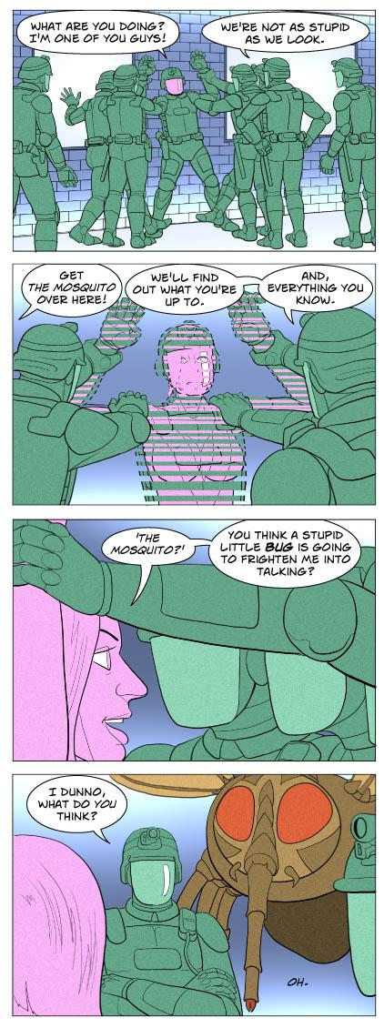 Strip 627 of Quantum Vibe