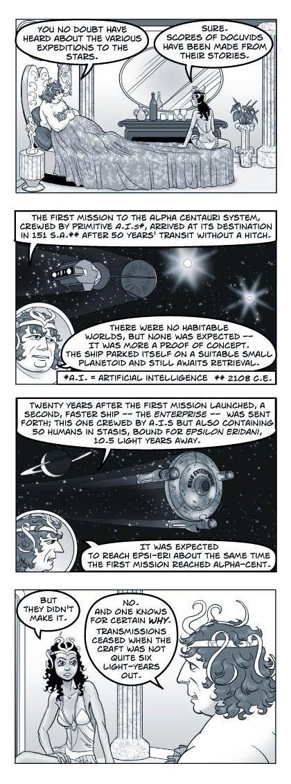 Strip 188 of Quantum Vibe