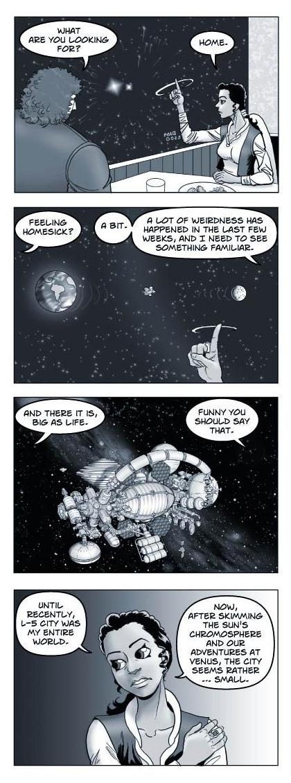 Strip 211 of Quantum Vibe